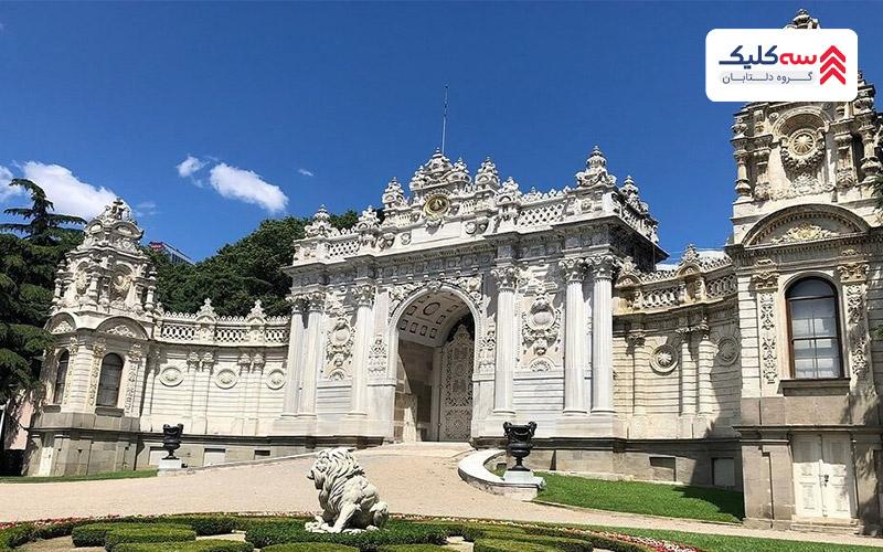 کاخ دلمه باغچه از بهترین جاذبه های گردشگری استانبول