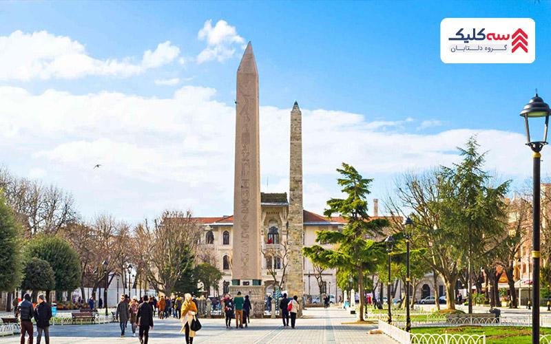 میدان هیپودروم در قلب جاذبه های گردشگری استانبول