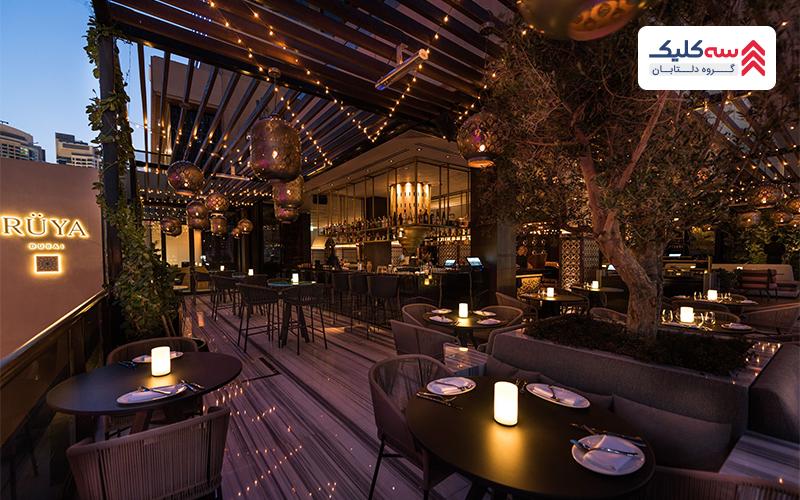 تصویری از رستوران های دبی