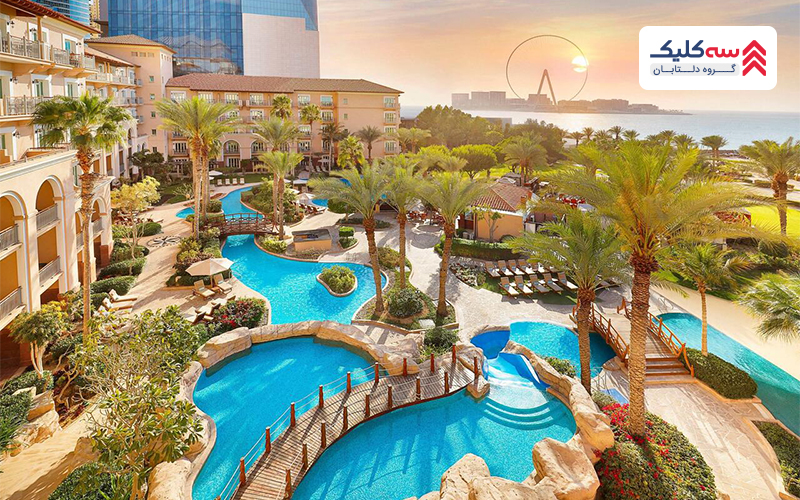 هتل ریتز کارتن از مجلل ترین هتل های دبی