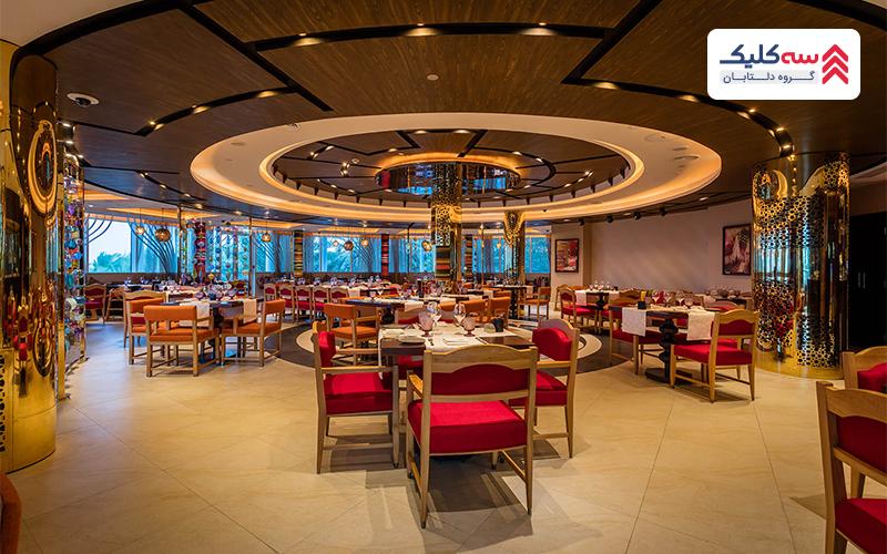 رستوران نایا از رستوران های دبی