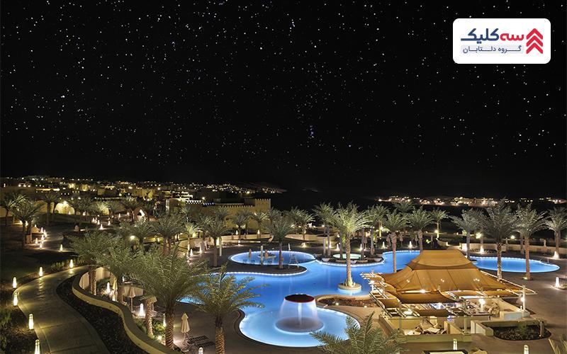 نمایی از هتل سلطنتی سراب اشرافی دبی