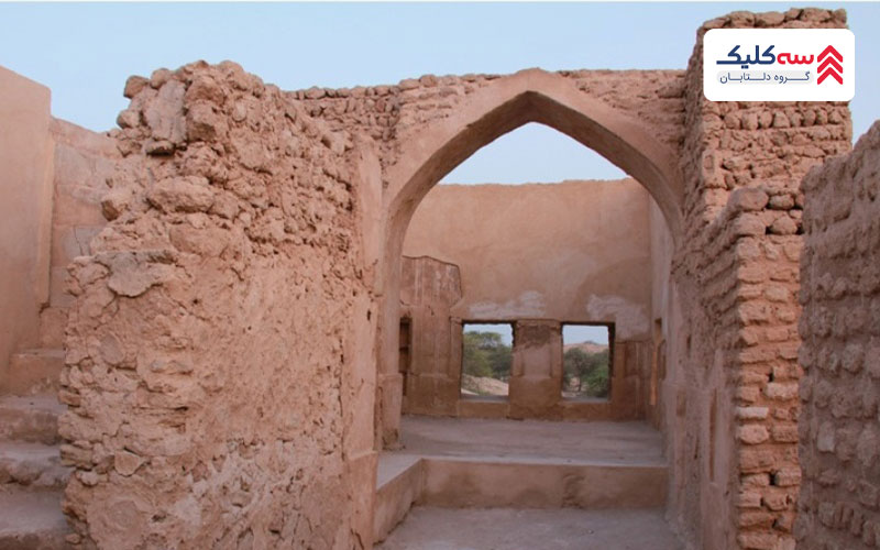 حمام شهر باستانی حریره کیش
