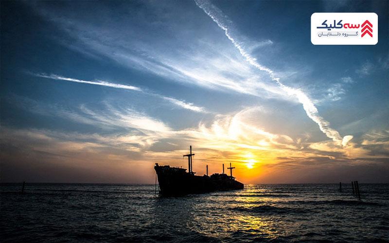 راهنمای سفر به کیش برای بازید از کشتی یونانی
