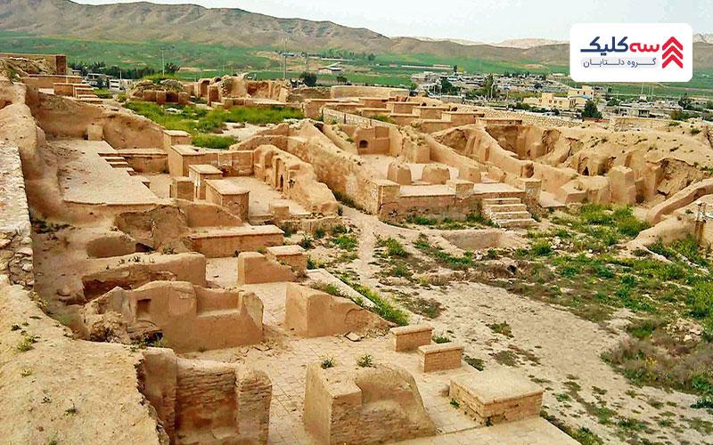 تاریخچه شهر باستانی  حریره کیش