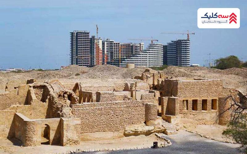 مسجد شهر باستانی حریره کیش