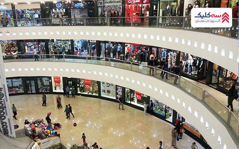 بازار مرکز تجاری کیش و معماری آن