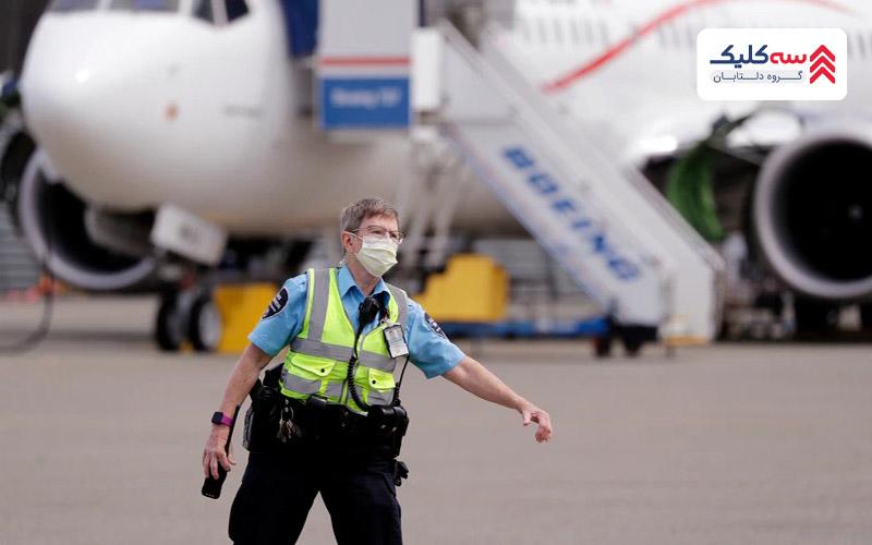 ماموران امنیتی فرودگاه