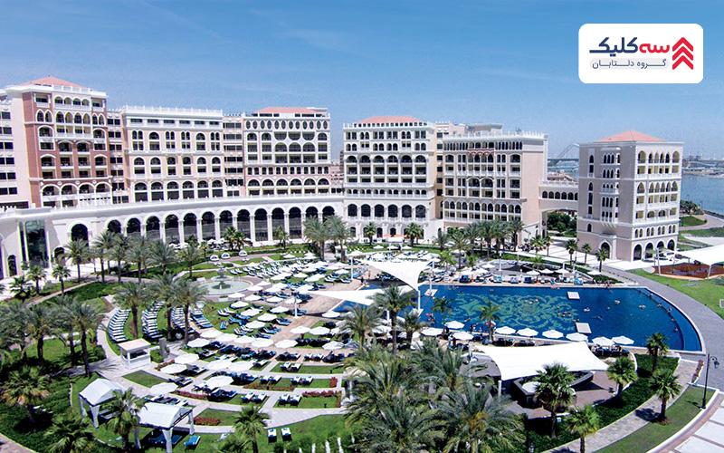 تجربه ی اقامت در ابوظبی با انتخاب هتل ریتز کارلتون
