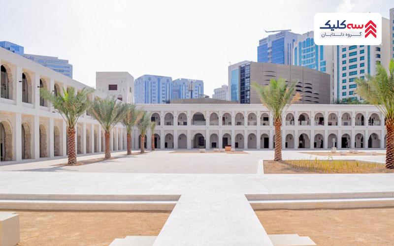 قصر الحسن معروف به قلعه سفید یا قلعه قدیمی در ابوظبی