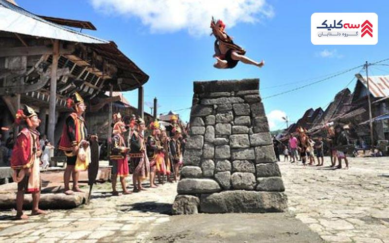 رسم و رسوم عجیب غریب اندونزی در جشن ها