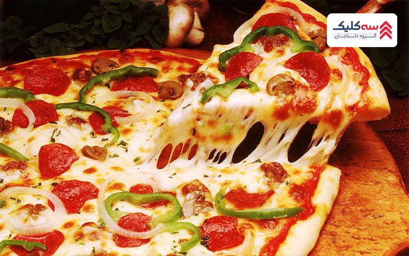 پیتزا از غذاهای ممنوعه قبل از پرواز