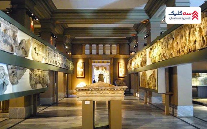 ساختمان کارهای قدیمی شرقی موزه استانبول