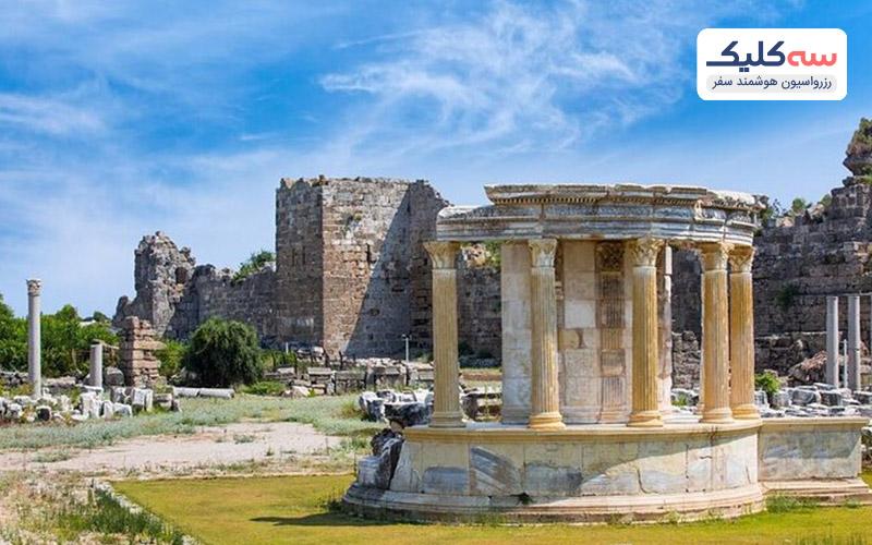 معابر طاقدار شهر آسپندوس