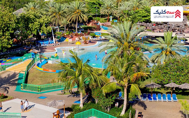 پارک آبی Dreamland جاذبه گردشگری عجمان