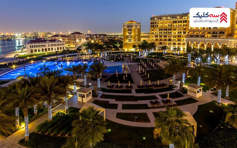 اقامتگاه های لوکس برای اقامت در ابوظبی