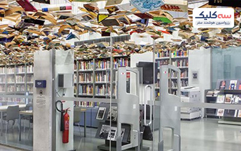 نمایی دیگر از کتابخانه استانبول