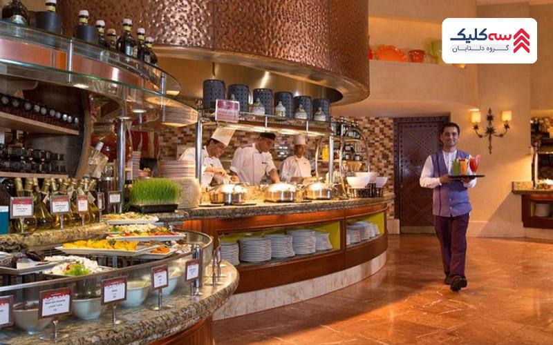 رستوران های لوکس ایرانی در دبی