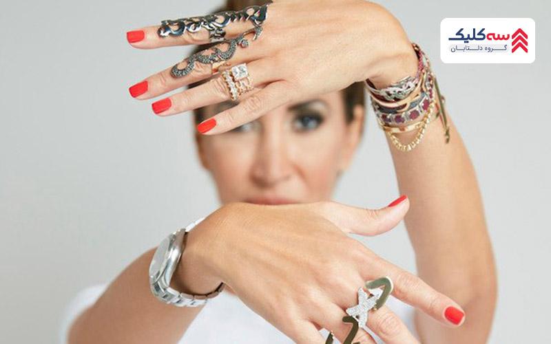 جواهرات Nadina Kanso از برندهای معروف در دبی