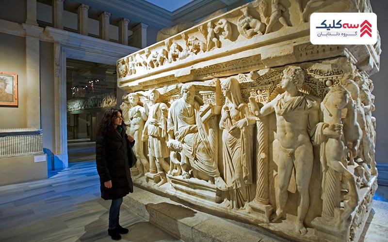 آثار تاریخی موزه استانبول