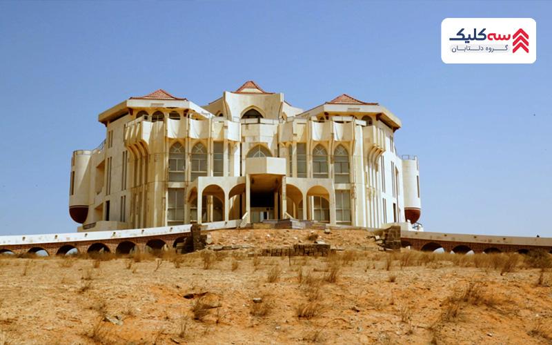 کاخ القاسمی: کاخ خالی از سکنه از