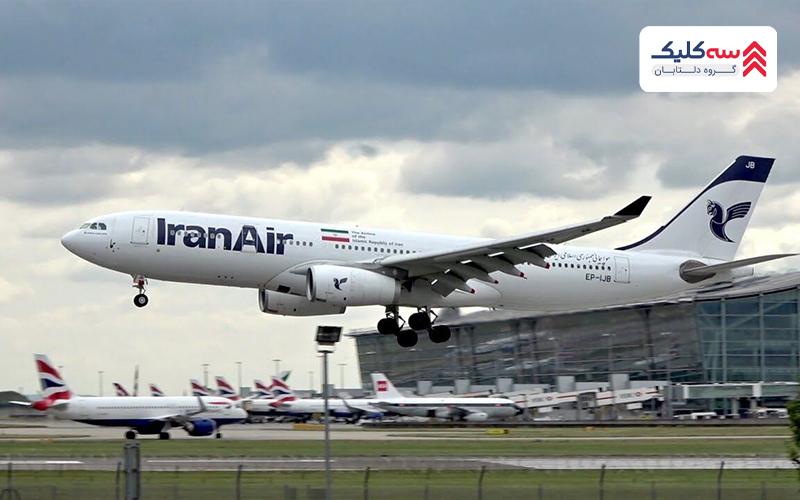 هواپیماهای شرکت ایران ایر