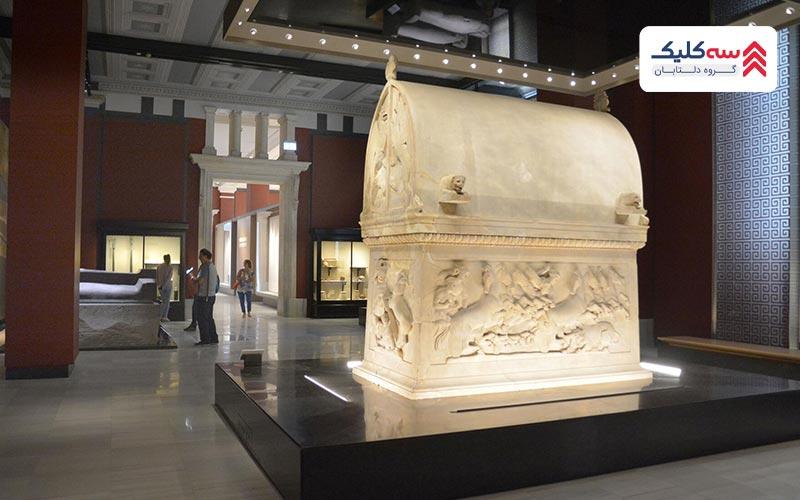 موزه استانبول به نام  KIOSK ENAMELED