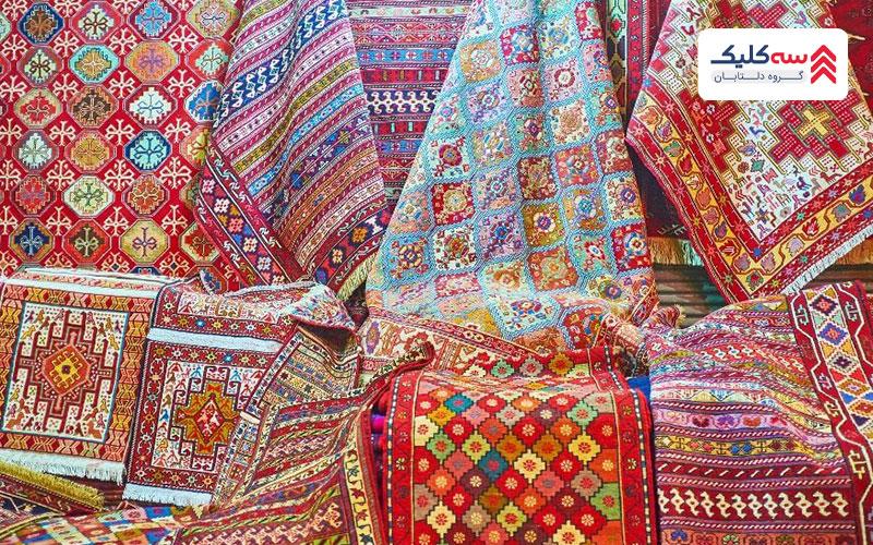 پارچه های سنتی فوق العاده زیبا سوغاتی دبی