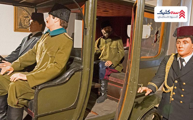 ماکت شخصیت های نظامی در موزه نظامی استانبول