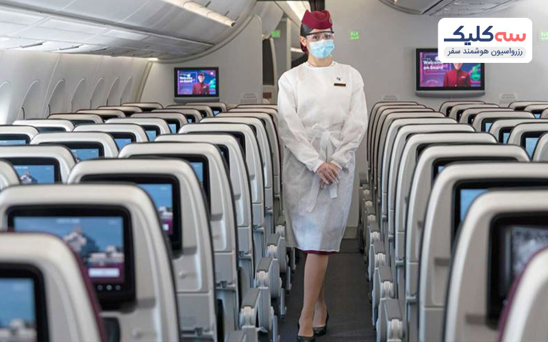 کادر پروازی شرکت هواپیمایی قطر ایرویز