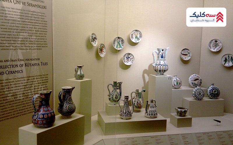 اشیاء موجود در موزه پرا استانبول