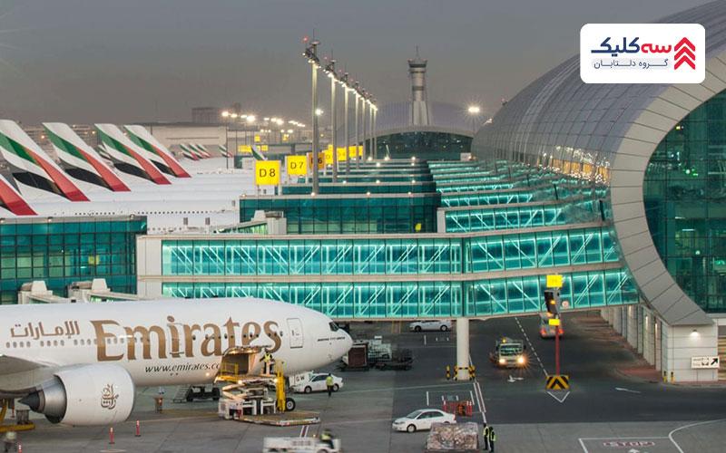 امکانات فرودگاههای دبی
