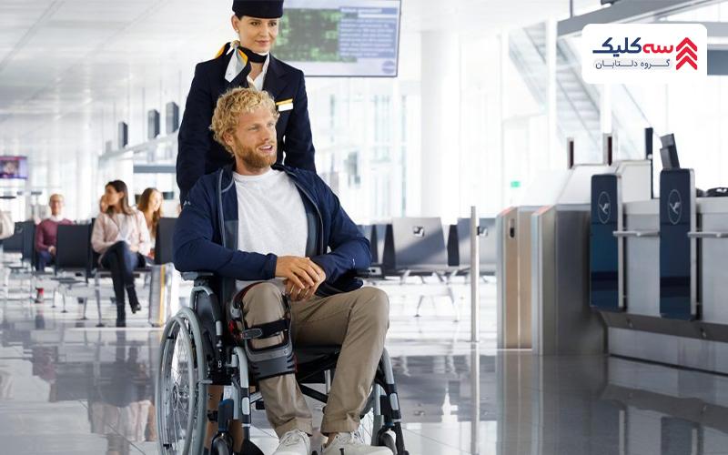 همراهی معلولین
