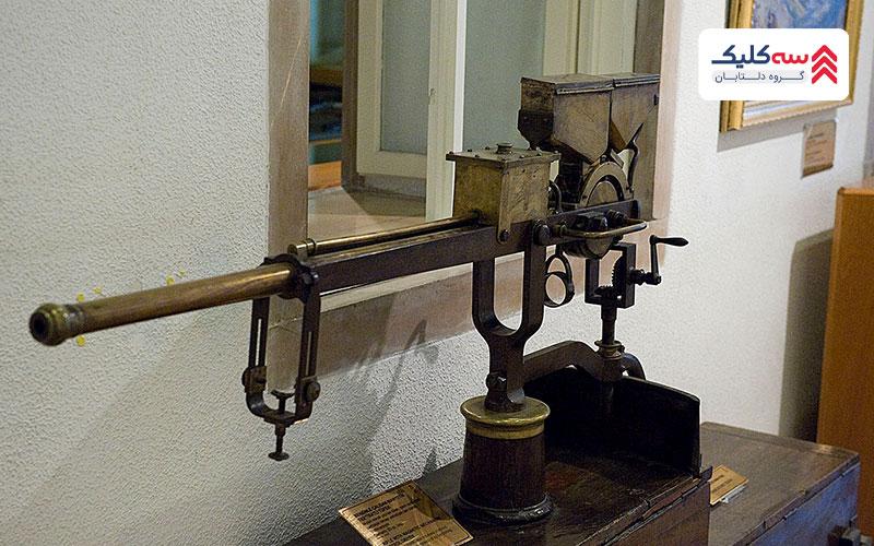 سلاح های نظامی موجود در موزه