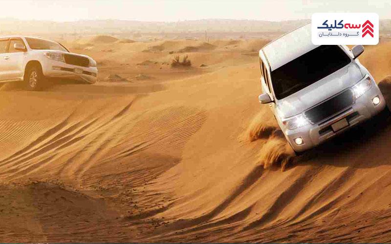 تفریح در دبی با سافاری در کویر