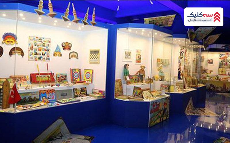 اسباب بازیها در موزه اسباب بازی استانبول