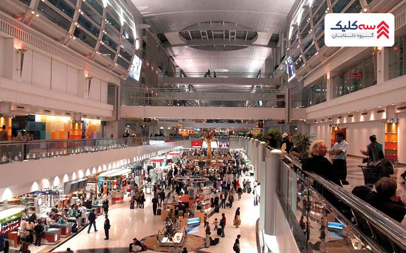 تصویر یکی از فرودگاههای دبی