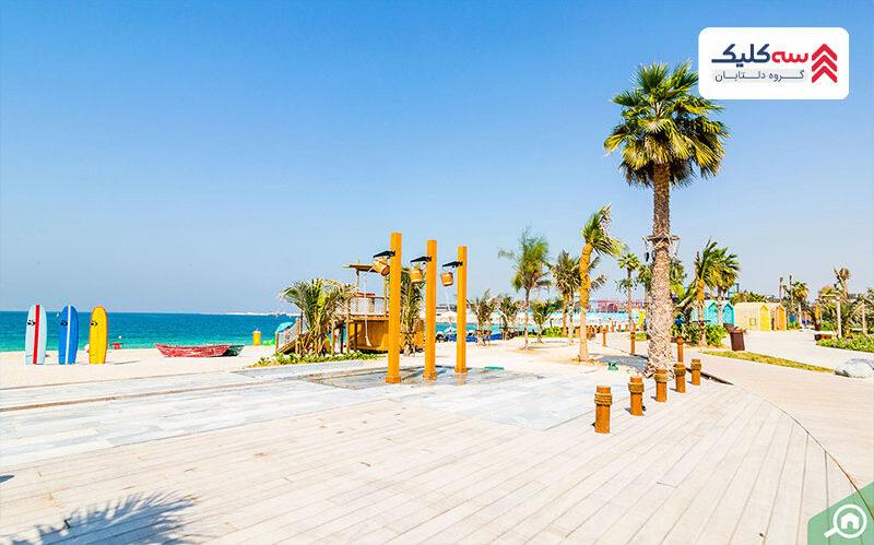 ساحل قصر سیاه از بهترین سواحل دبی