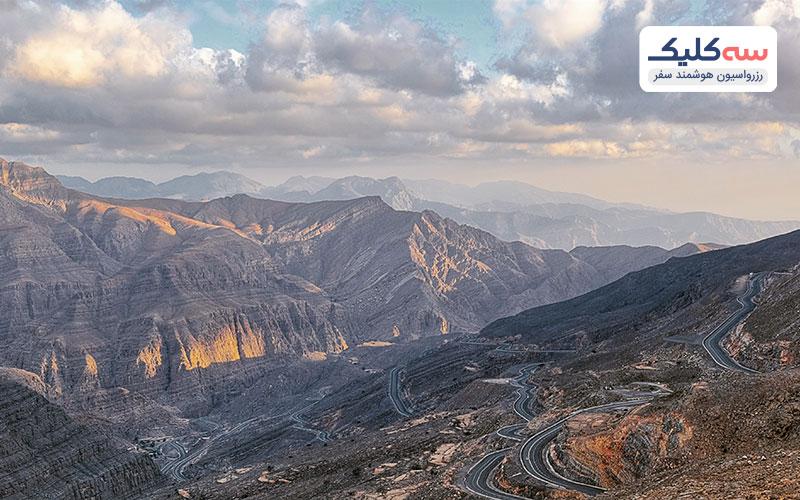 جبل جائیس از جاذبه های امارات