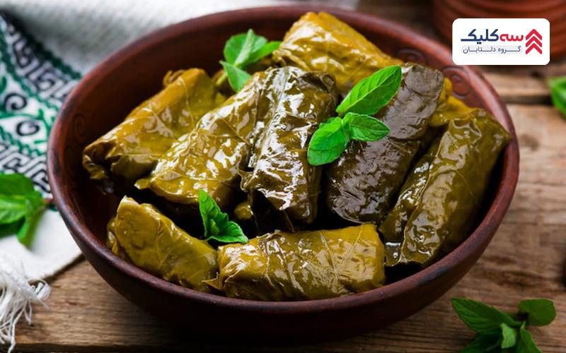 دولما از غذاهای معروف ارمنستان