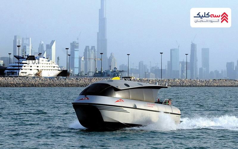 قایق های لوکس برای حمل و نقل در دبی
