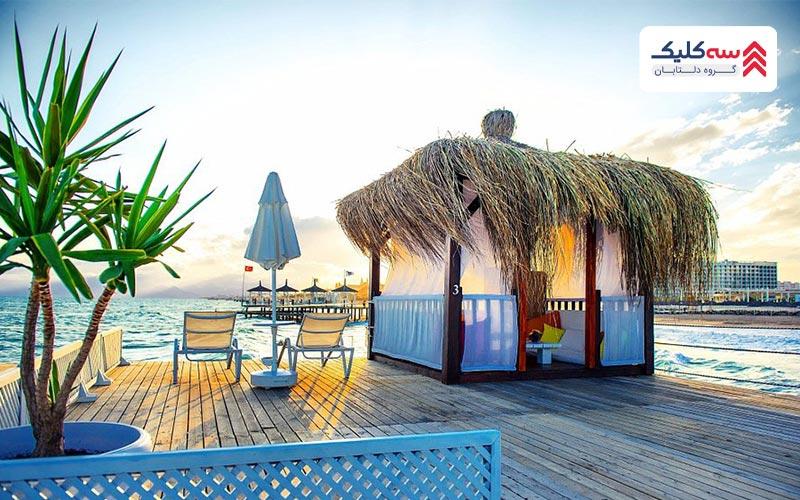 ساحل لارا یک طبیعت بی نظیر