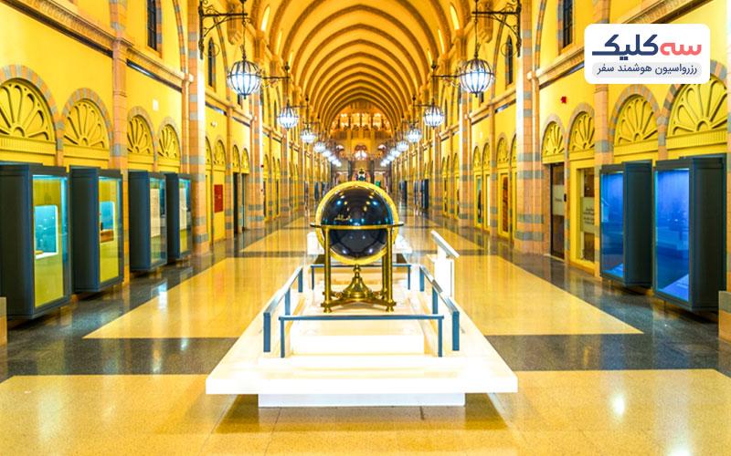 تصویری از موزه جذاب تمدن اسلامی شارجه