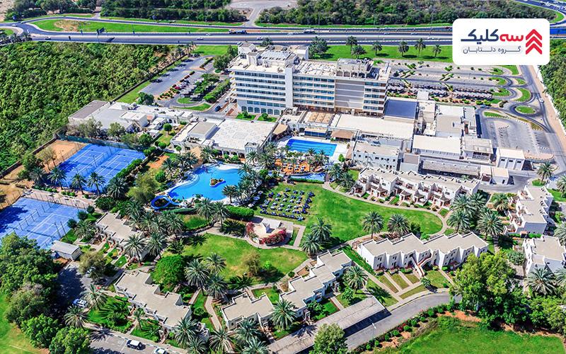 هتل رادیسون بلو ، العین انتخابی مناسب برای اقامت در ابوظبی