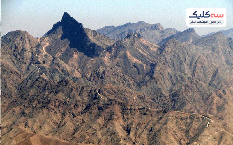 کوه های هاجر از دیگر جاذبه های امارات