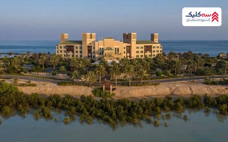 اقامت در ابوظبی در جزیره آنانتارا سر بنی یاس