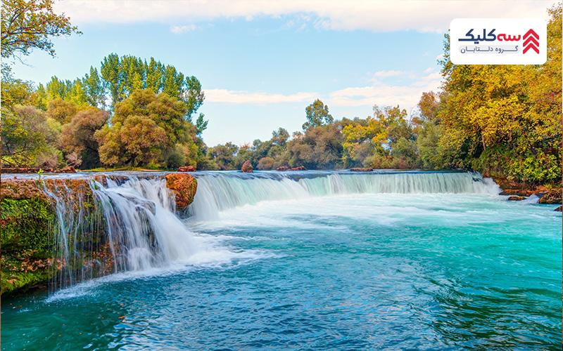 آبشارهای ماناوگات از بهترین جاذبه های گردشگری سیده