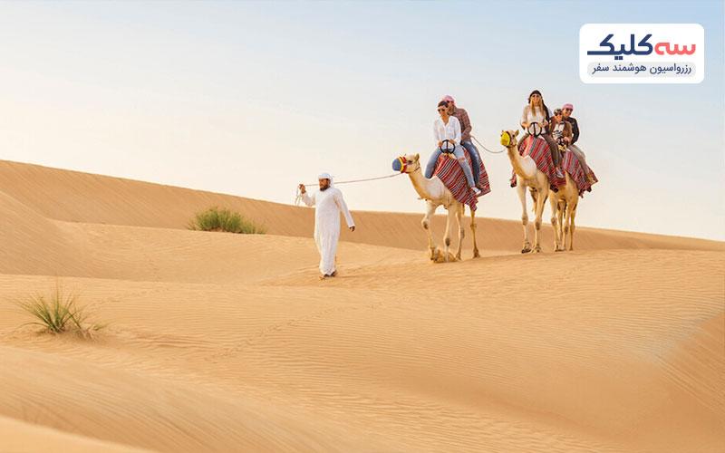 صحرای ابوظبی و فجیره از جاذبه های دیدنی  امارات