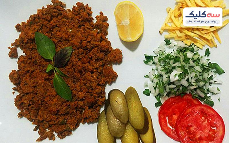 پودنی غذاهای سنتی کیش
