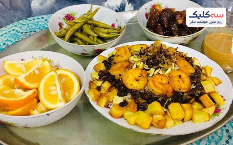 مارگوگ یکی از  معروف ترین غذاهای سنتی کیش